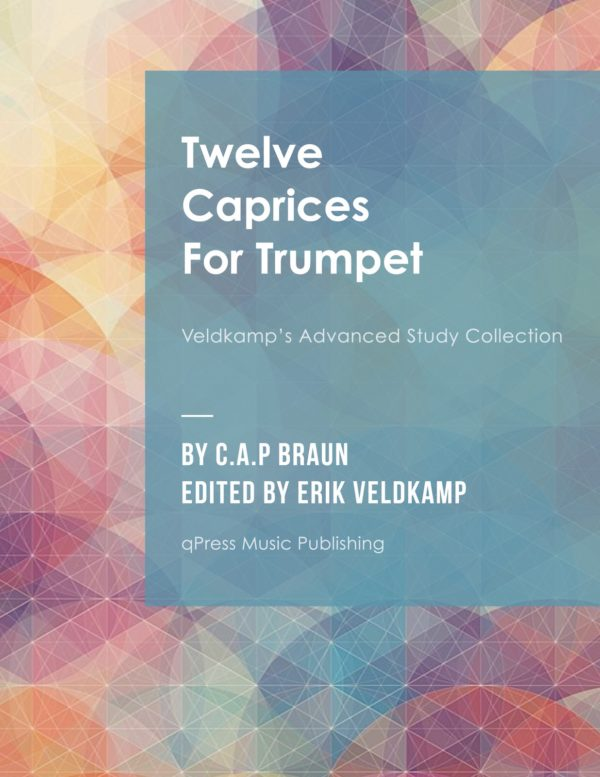 12 Caprices for Trumpet