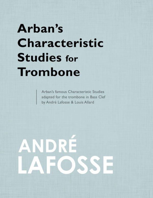 Arban's Characteristic Studies (Bass Clef)