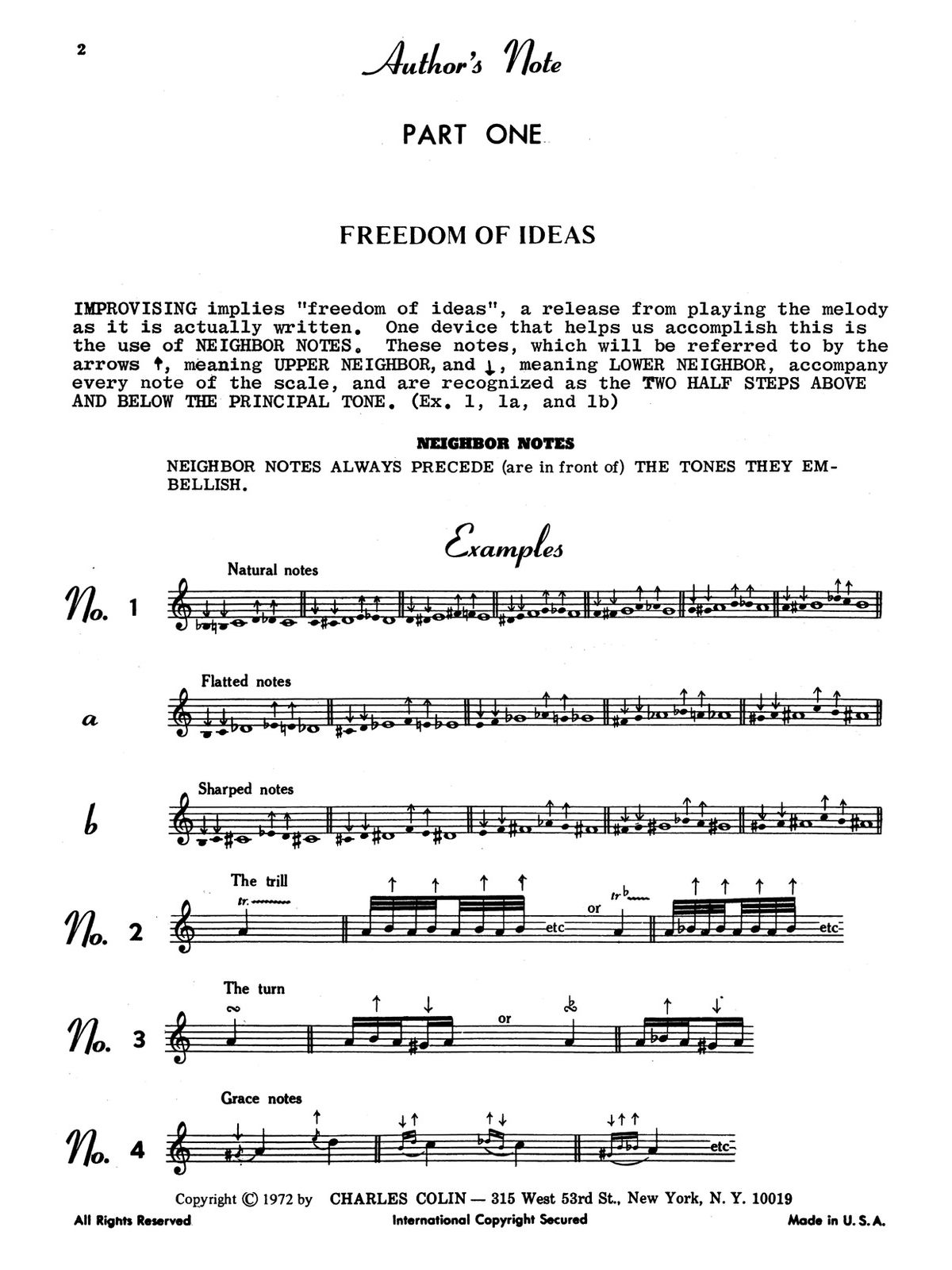 Applebaum, Stan, How to Improvise for All Instruments-p02