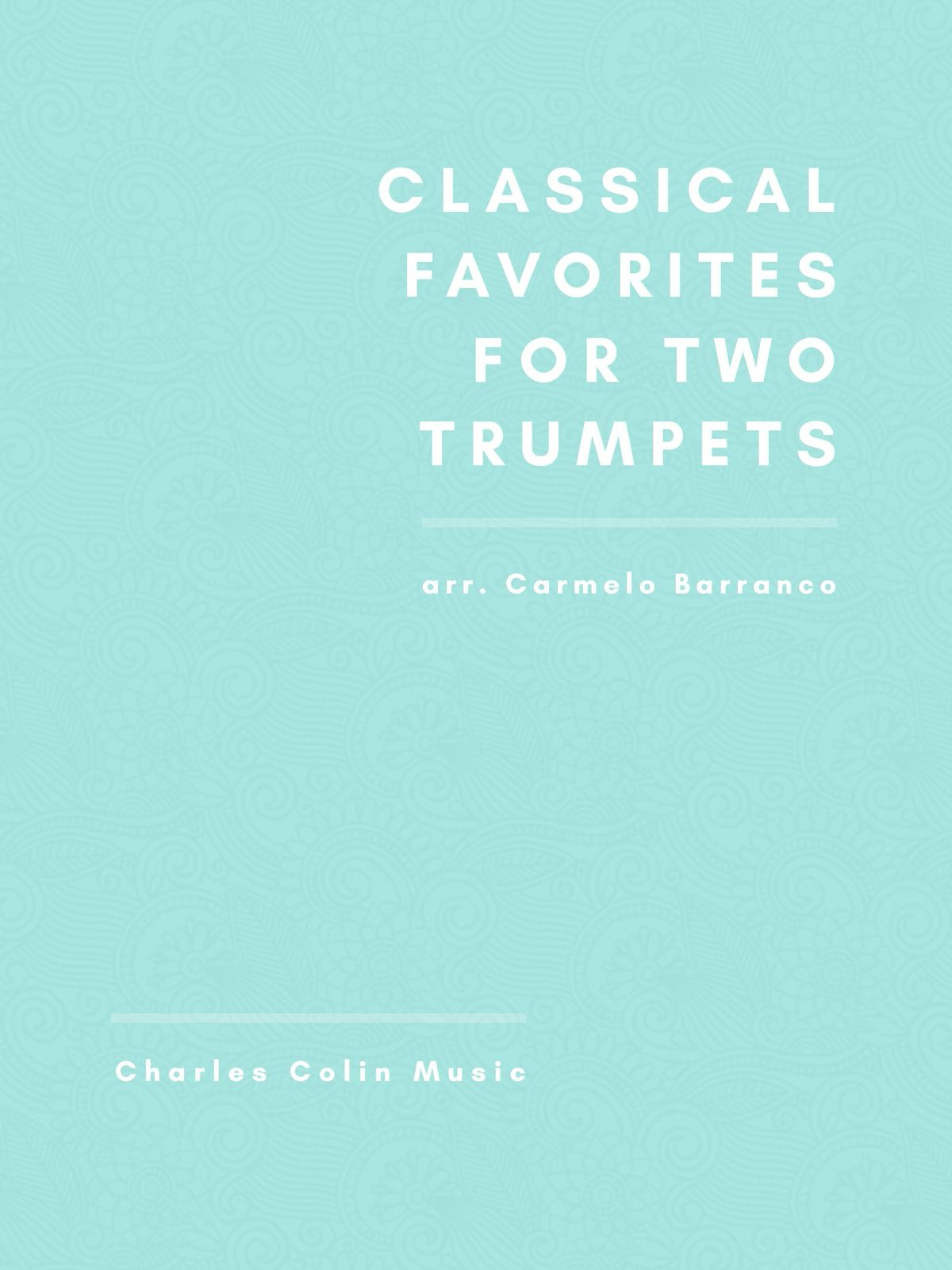 Barranco, Classical Favorites for Two Trumpets-p01