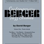 Berger, Contemporary Jazz Studies Vol.1 (Bass Clef)