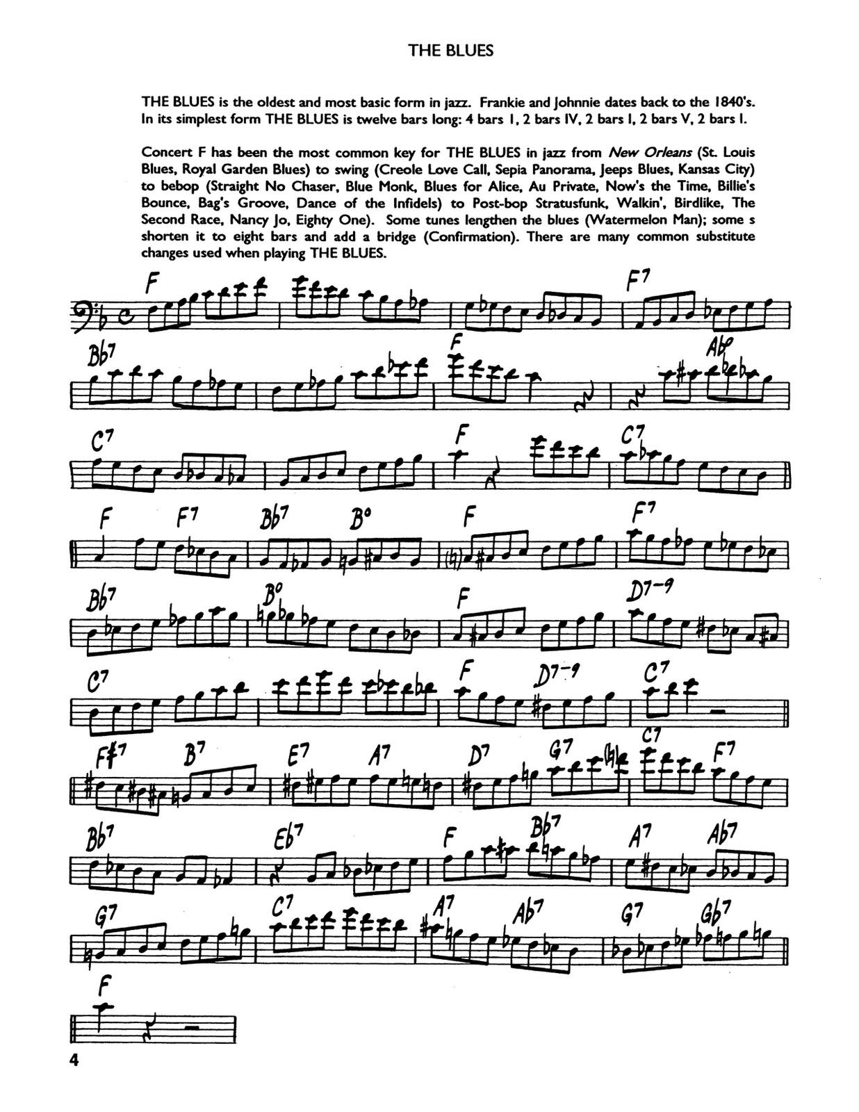 Berger, Contemporary Jazz Studies Vol.1 (Bass Clef) 2