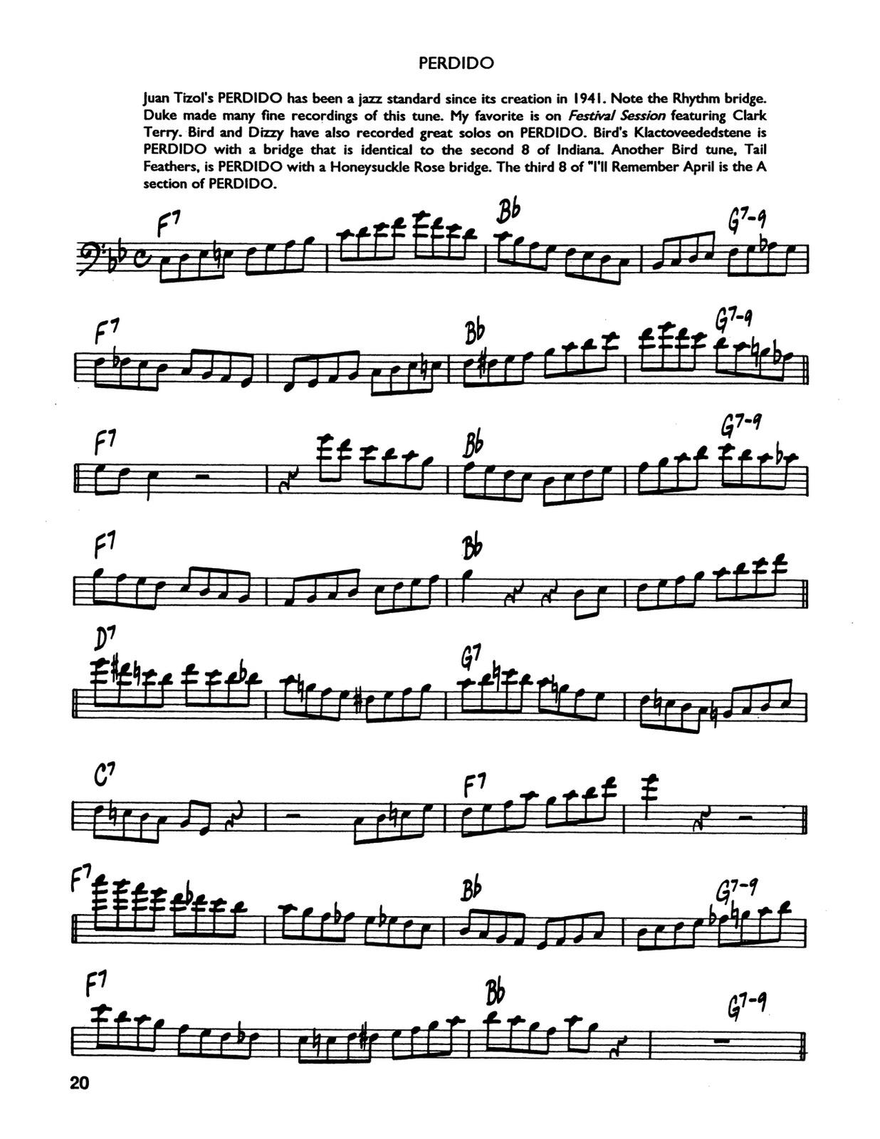 Berger, Contemporary Jazz Studies Vol.1 (Bass Clef) 4