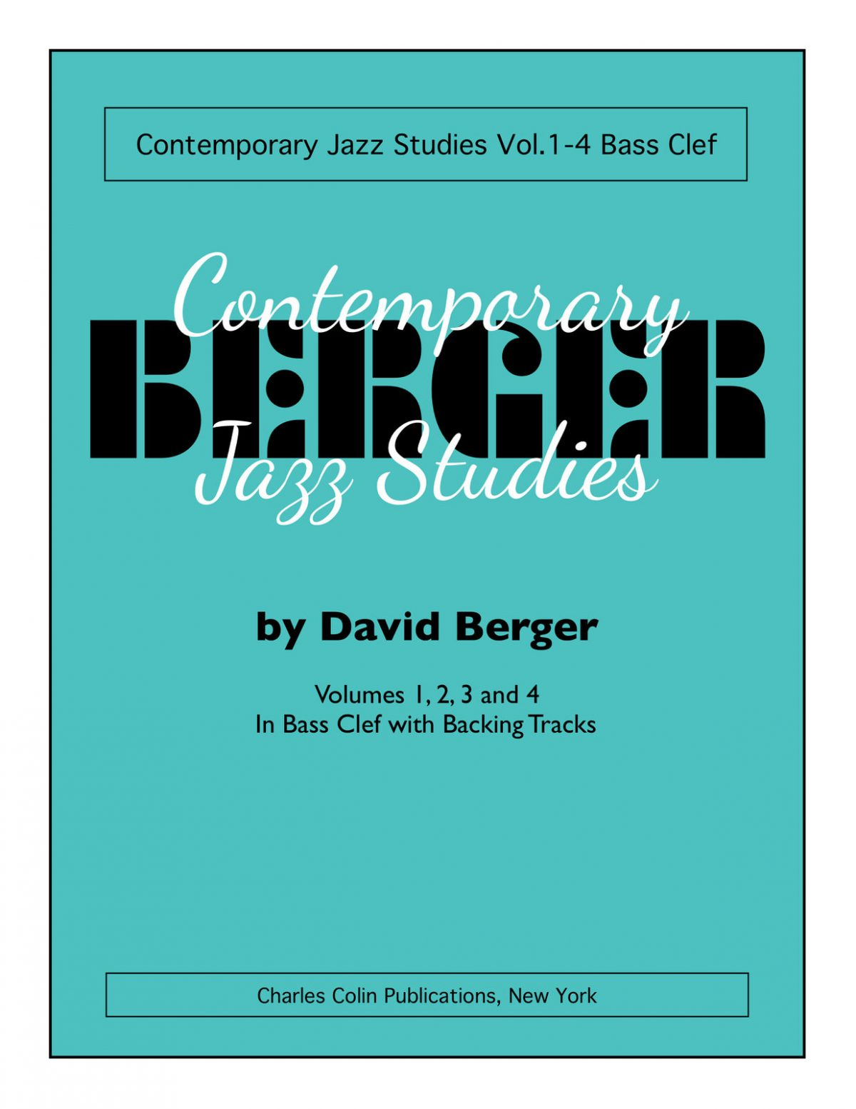 Contemporary Jazz Studies V.1-4 (Bass Clef)