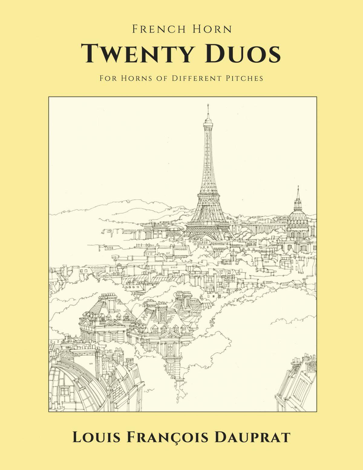 Dauprat, 20 Duos Pour Cor-p01