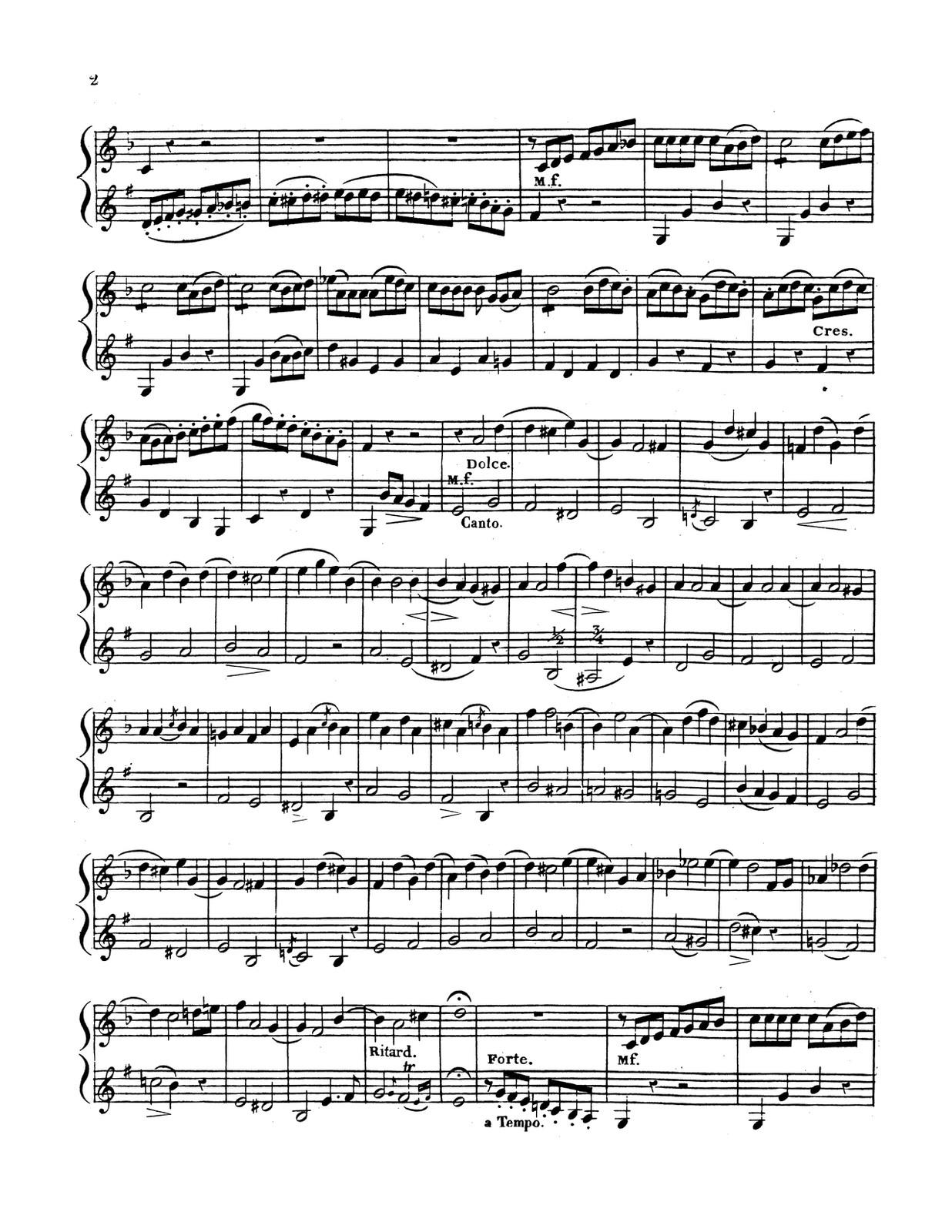 Dauprat, 20 Duos Pour Cor-p06