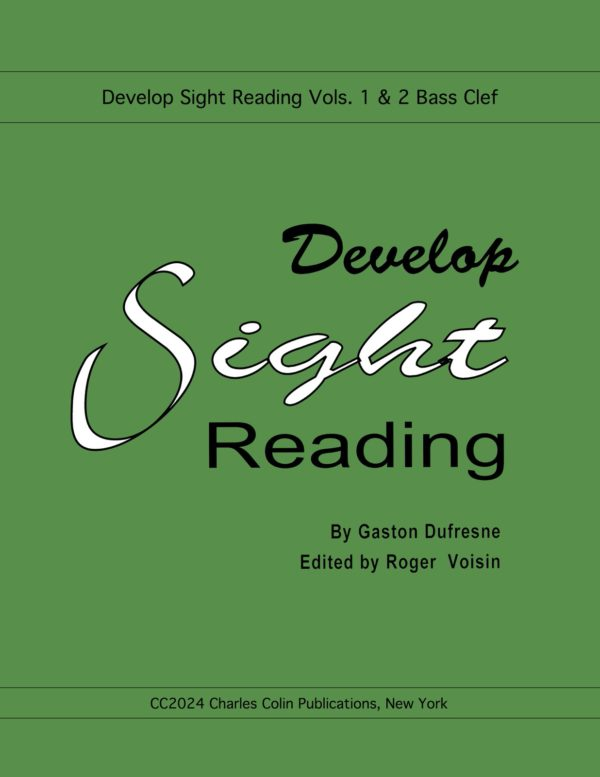Develop Sight Reading (Bass Clef)