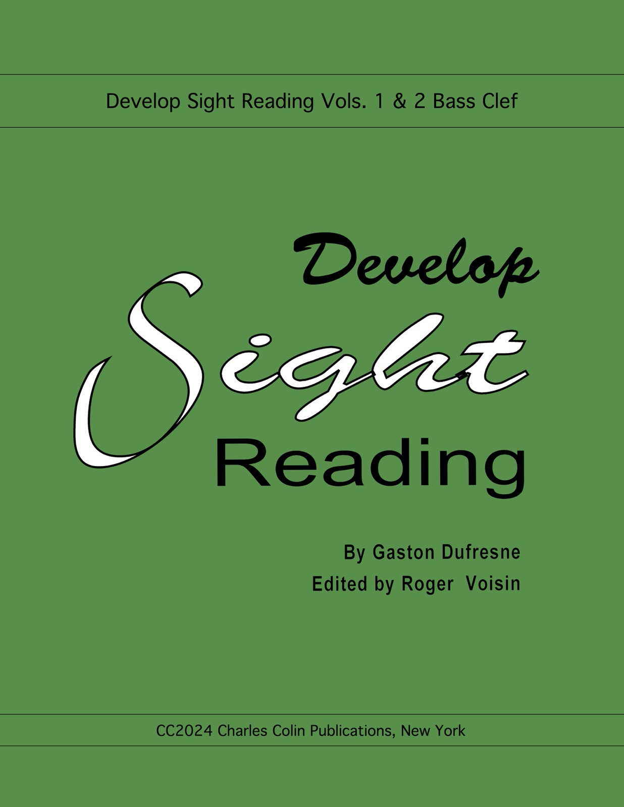 Dufrense, Develop Sight Reading (Bass Clef)-p01