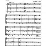 Elwell, Herbert, Fanfares Strictly for Trumpets-p03