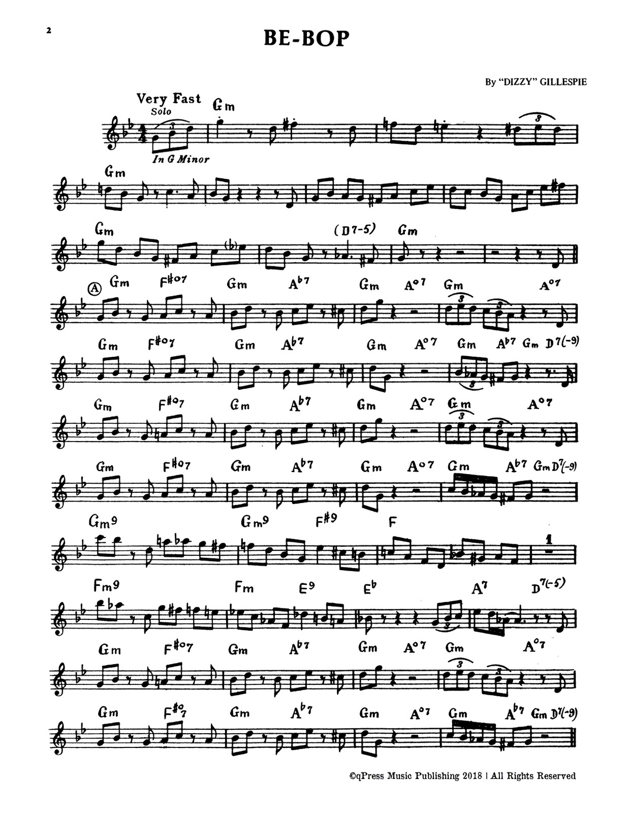 Gillespie, A Jazz Master (Part and Score)-p004