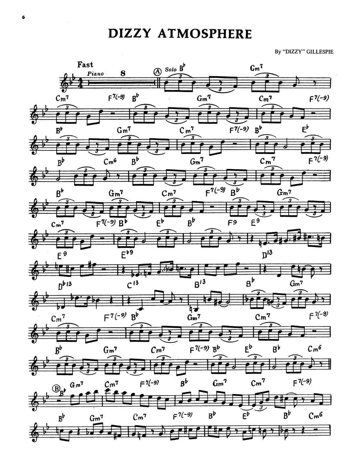 Gillespie, A Jazz Master (Part and Score)-p008