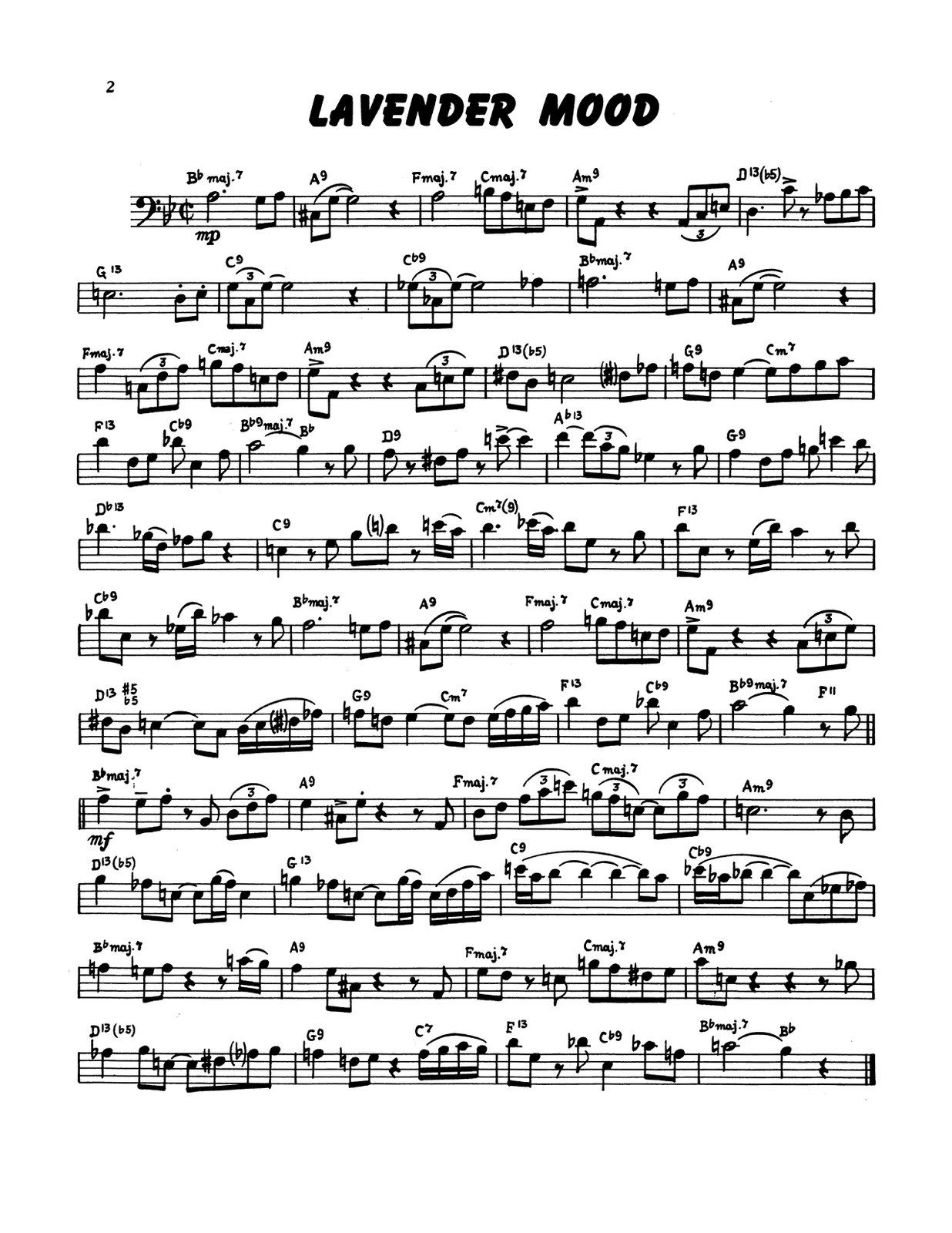 Paisner, 19 Swing Studies for Trombone-p04