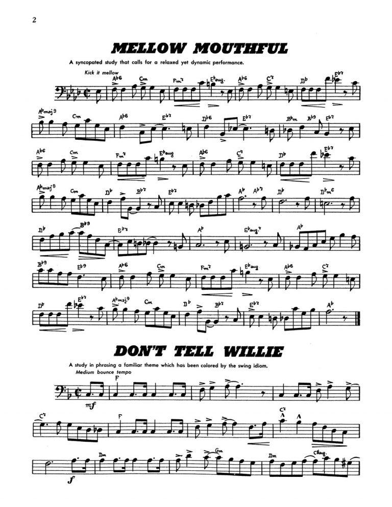Paisner, 30 Studies in Swing for Trombone