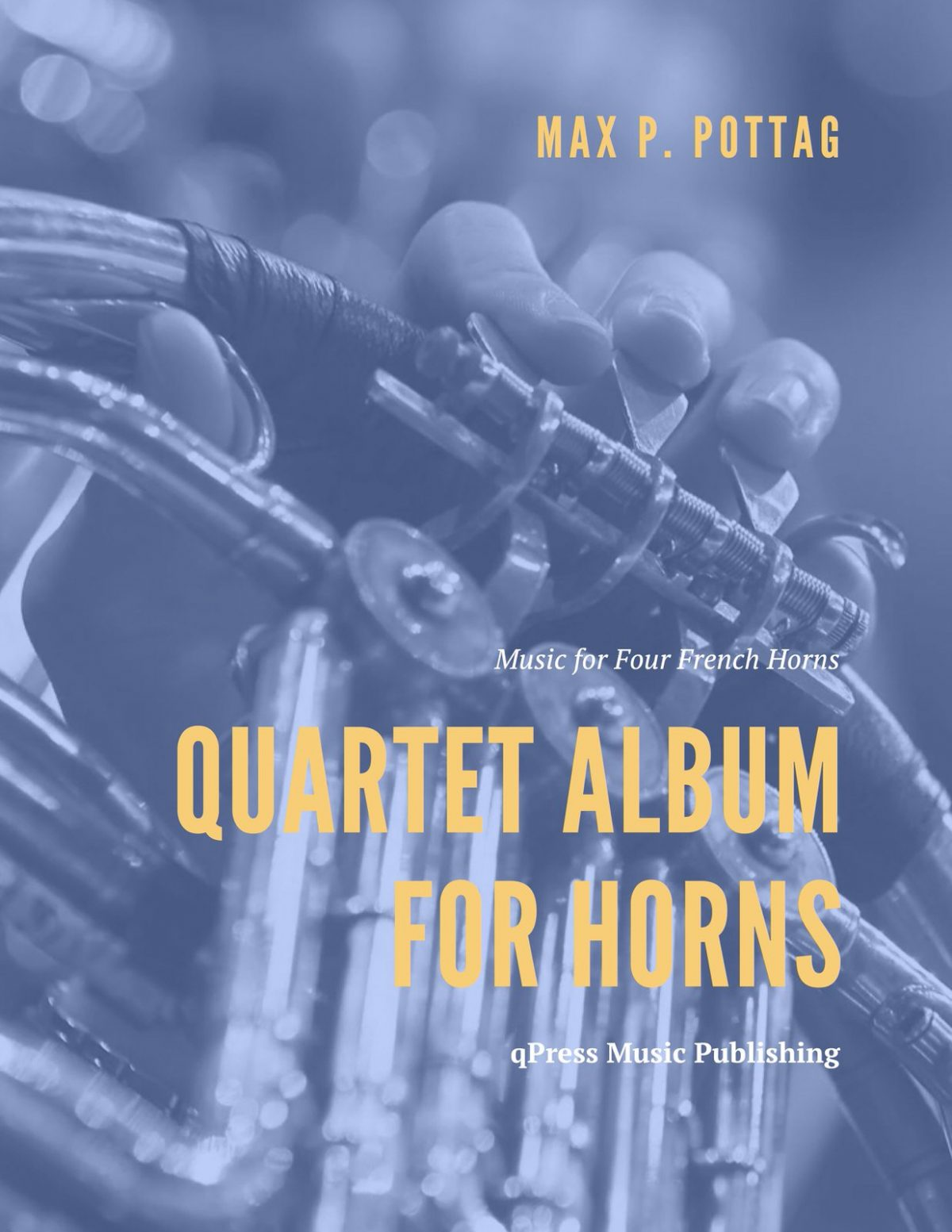 Pottag, Quartet Album for French Horn-p01