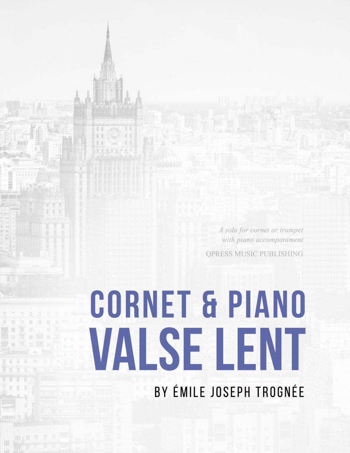 Trognee, Valse Lente (Part & Score)-p01