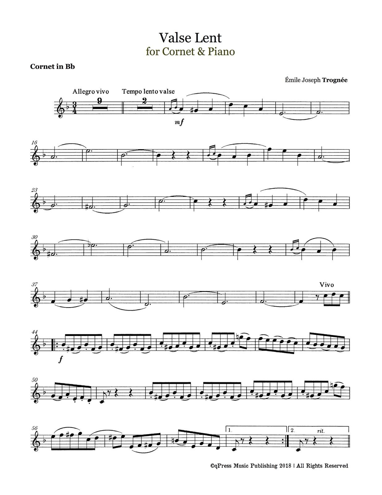 Trognee, Valse Lente (Part & Score)-p03