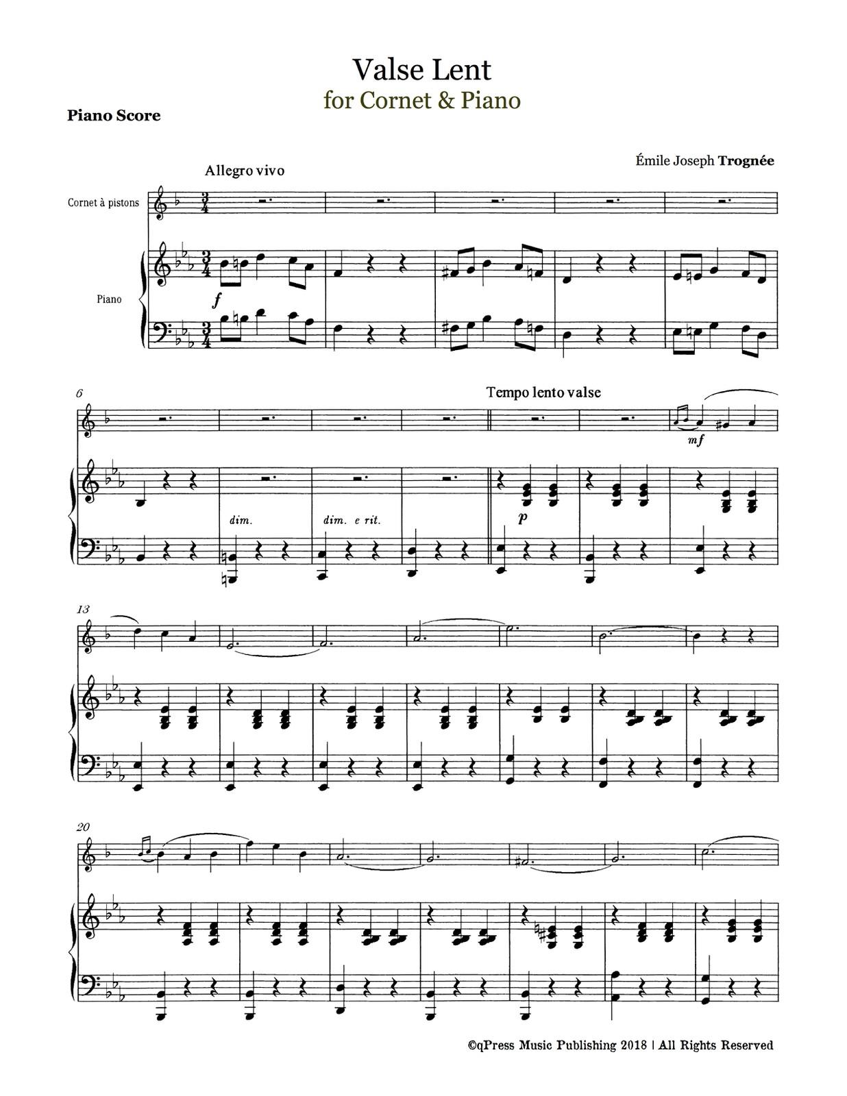 Trognee, Valse Lente (Part & Score)-p07