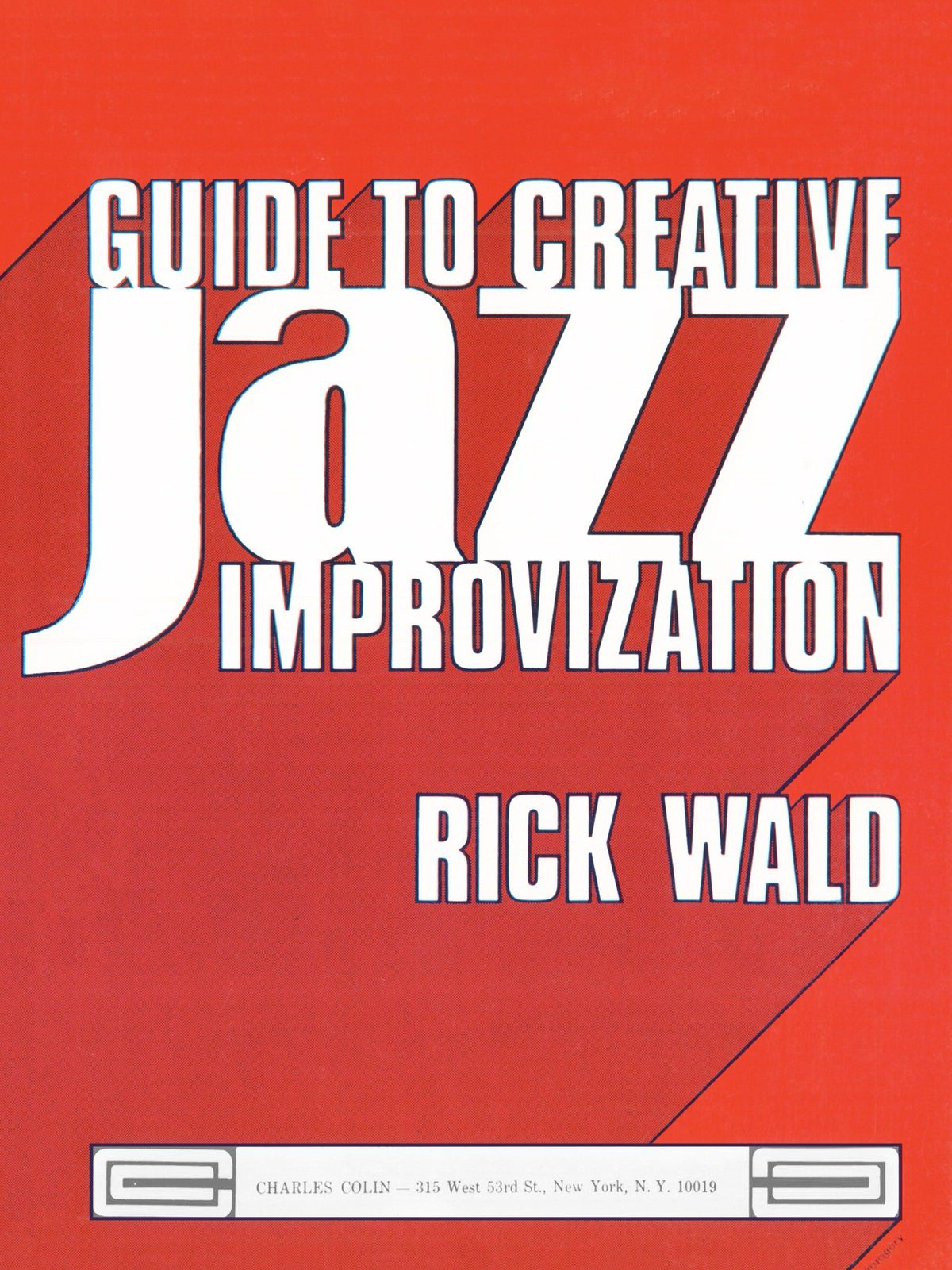 Wald, Rich, Guide to Creative Jazz Improvization-p001