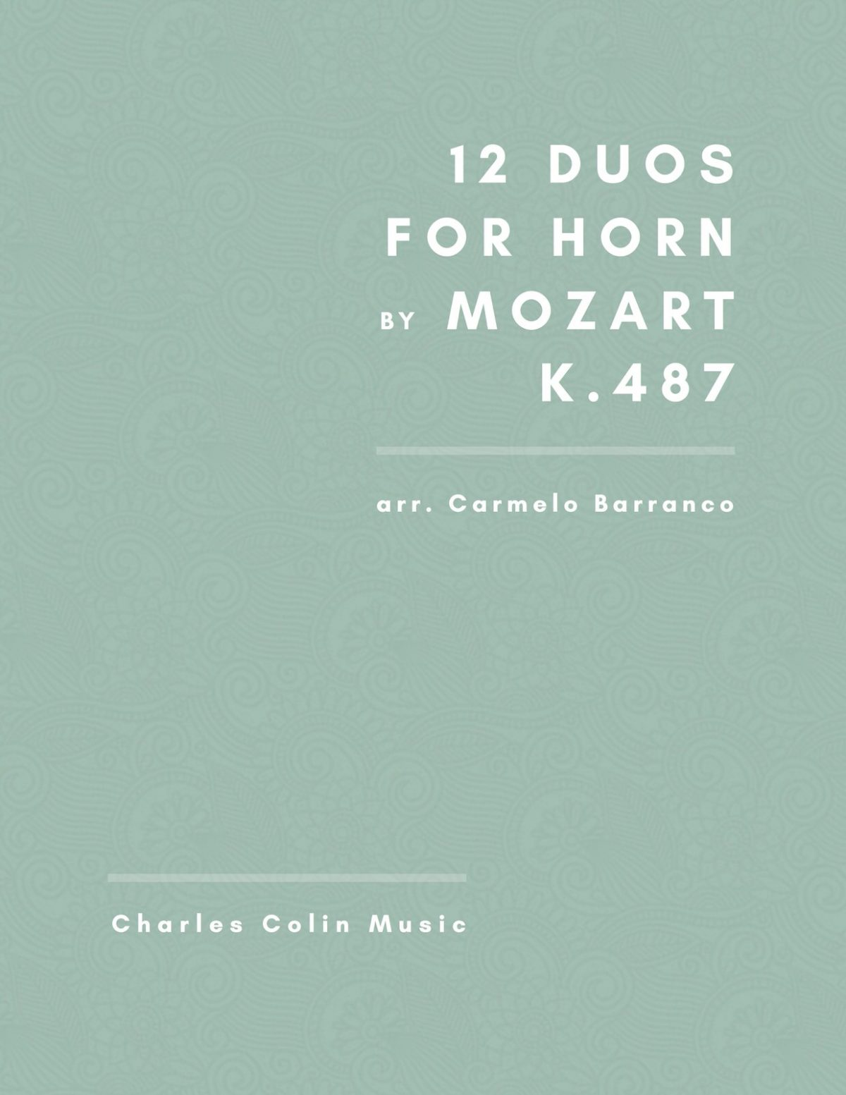 Barranco-Mozart, 12 Duets for French Horn K.487-p01