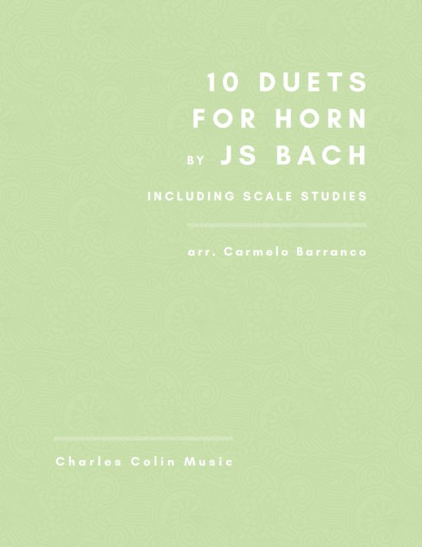Ten Duets by Bach for French Horn