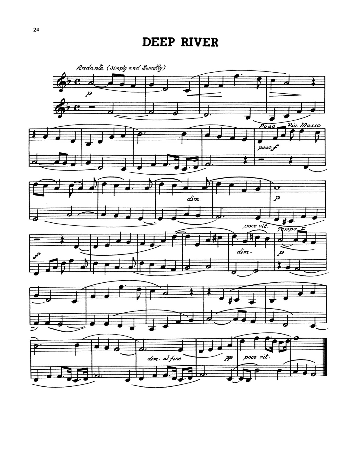Cori, Melody Duets for Two Trumpets 1-p24