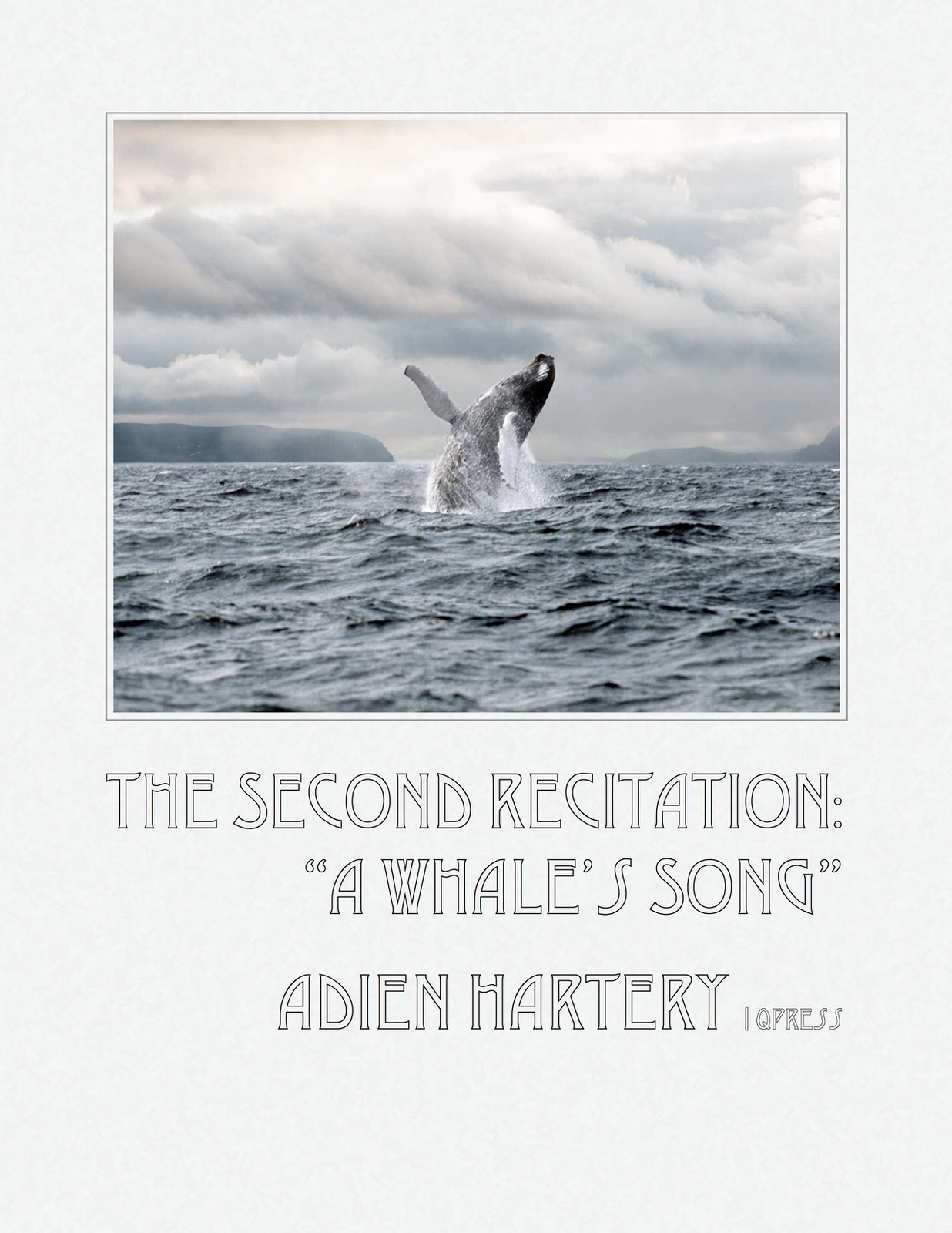 Hartery, The Second Recitation, A Whale's Song-p1