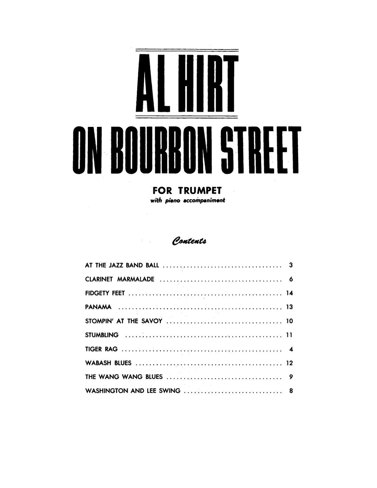 Hirt, On Bourbon Street (Part and Score)-p03