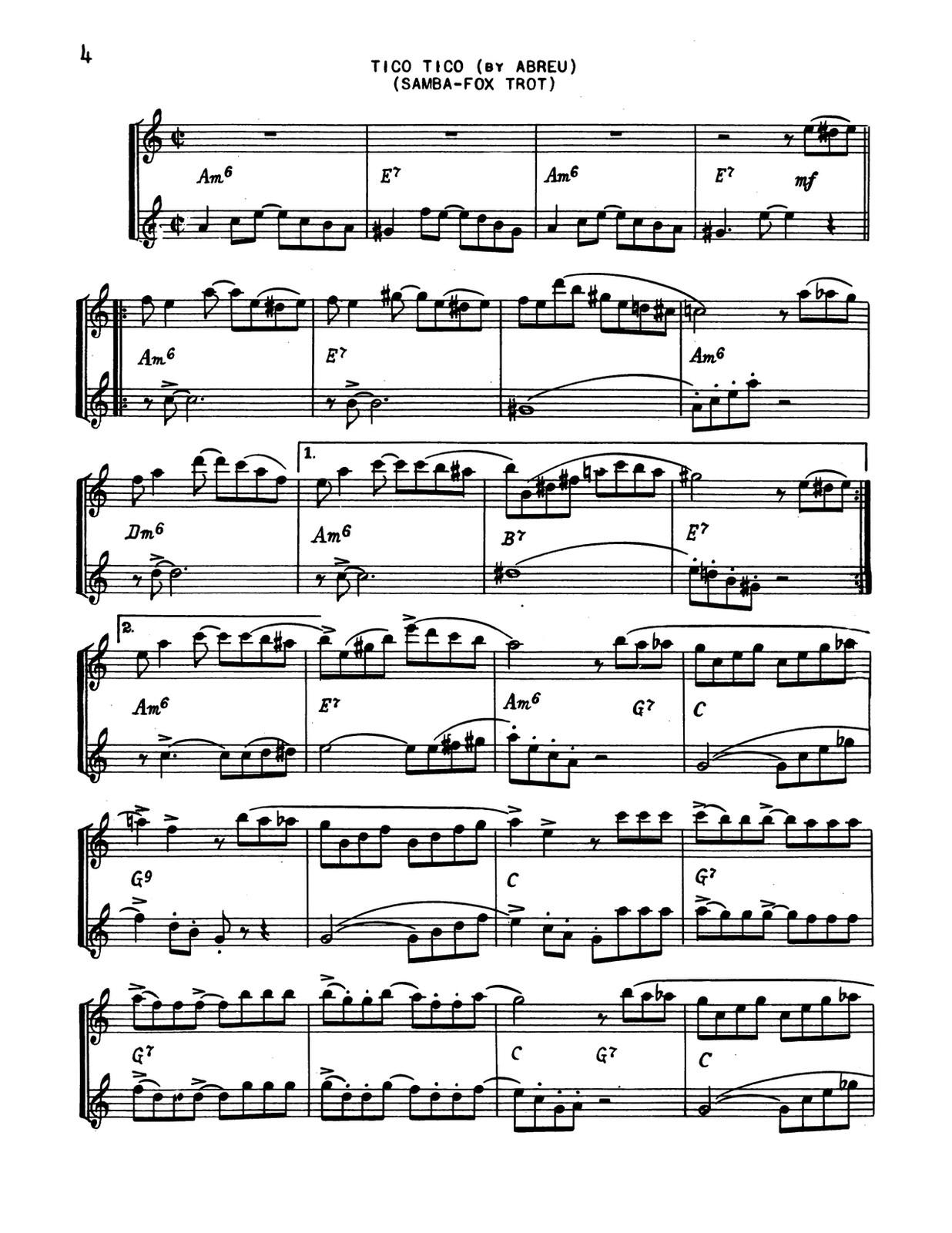 33 Latin Standards Combo Orks By Huffnagle Harry Paisner Ben