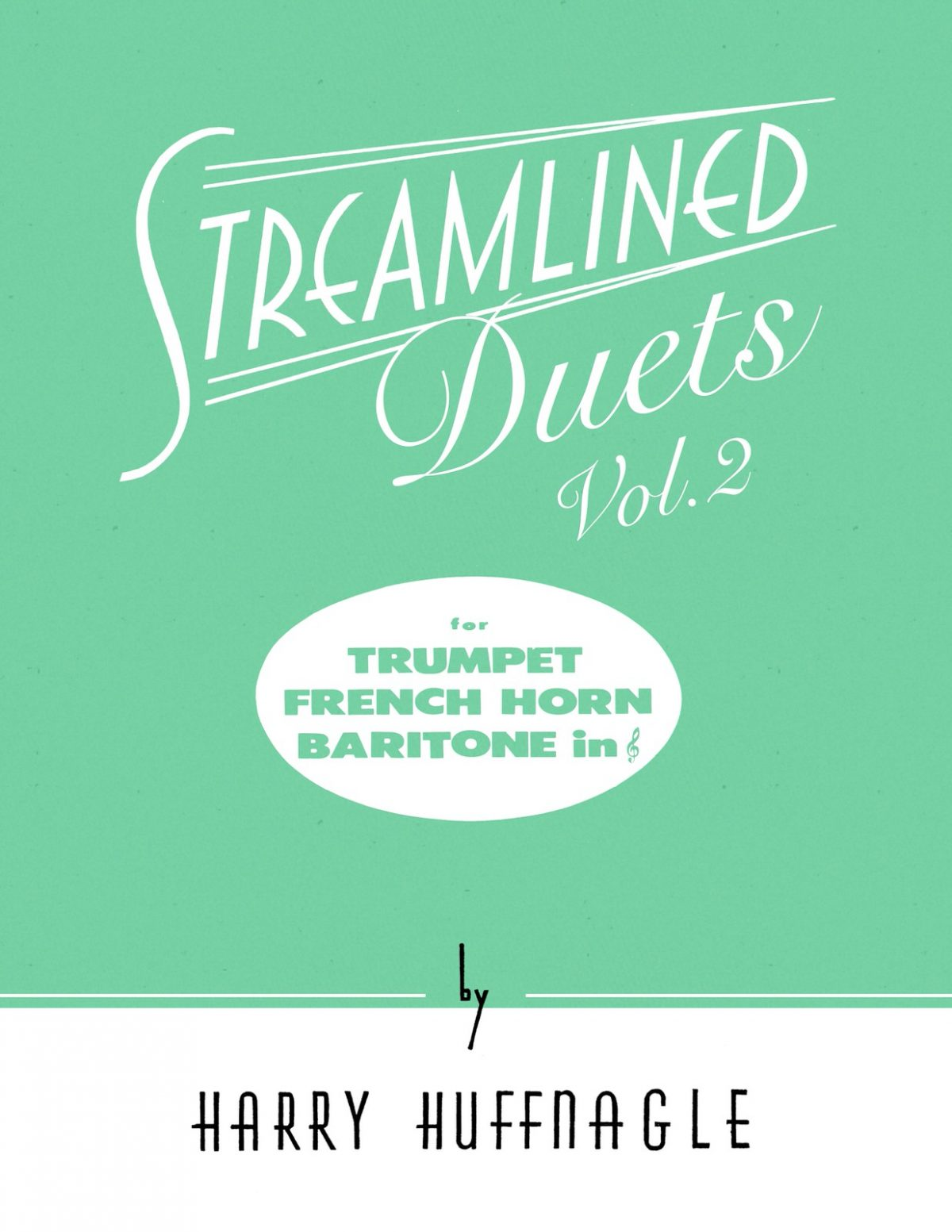 Huffnagle, Streamlined Duets Volume 2-p01