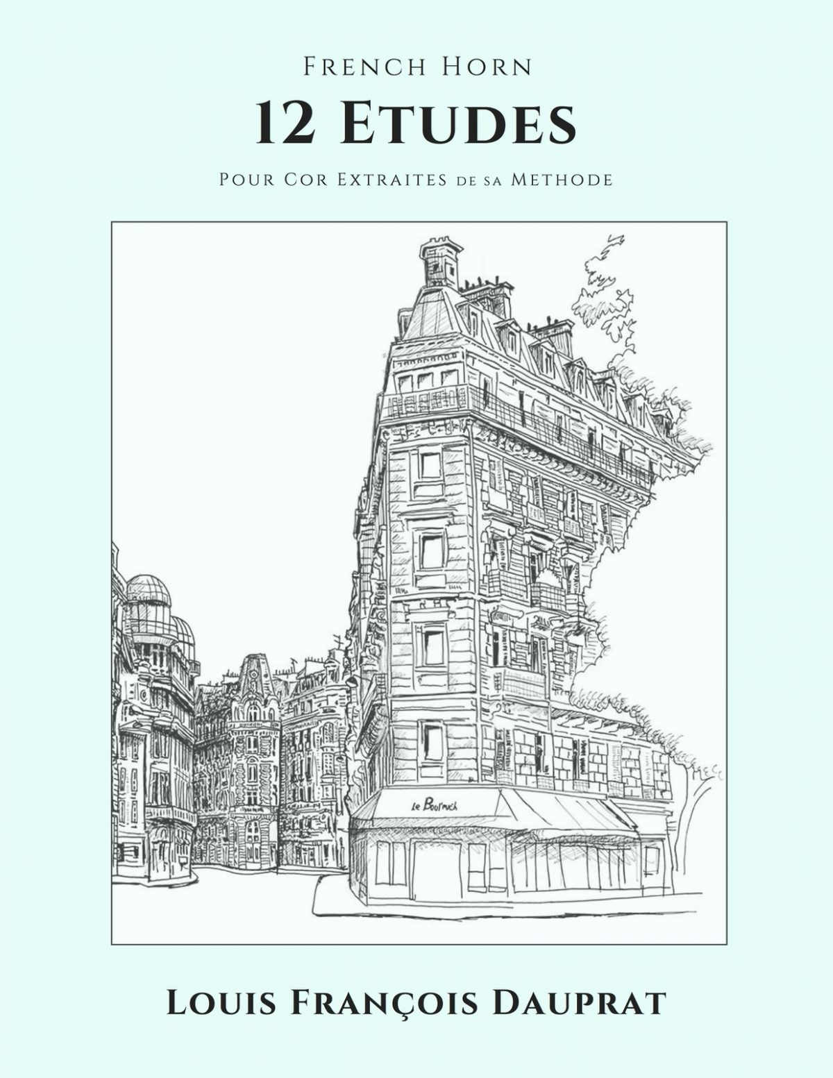 Dauprat, 12 Etudes Pour Cor-p01