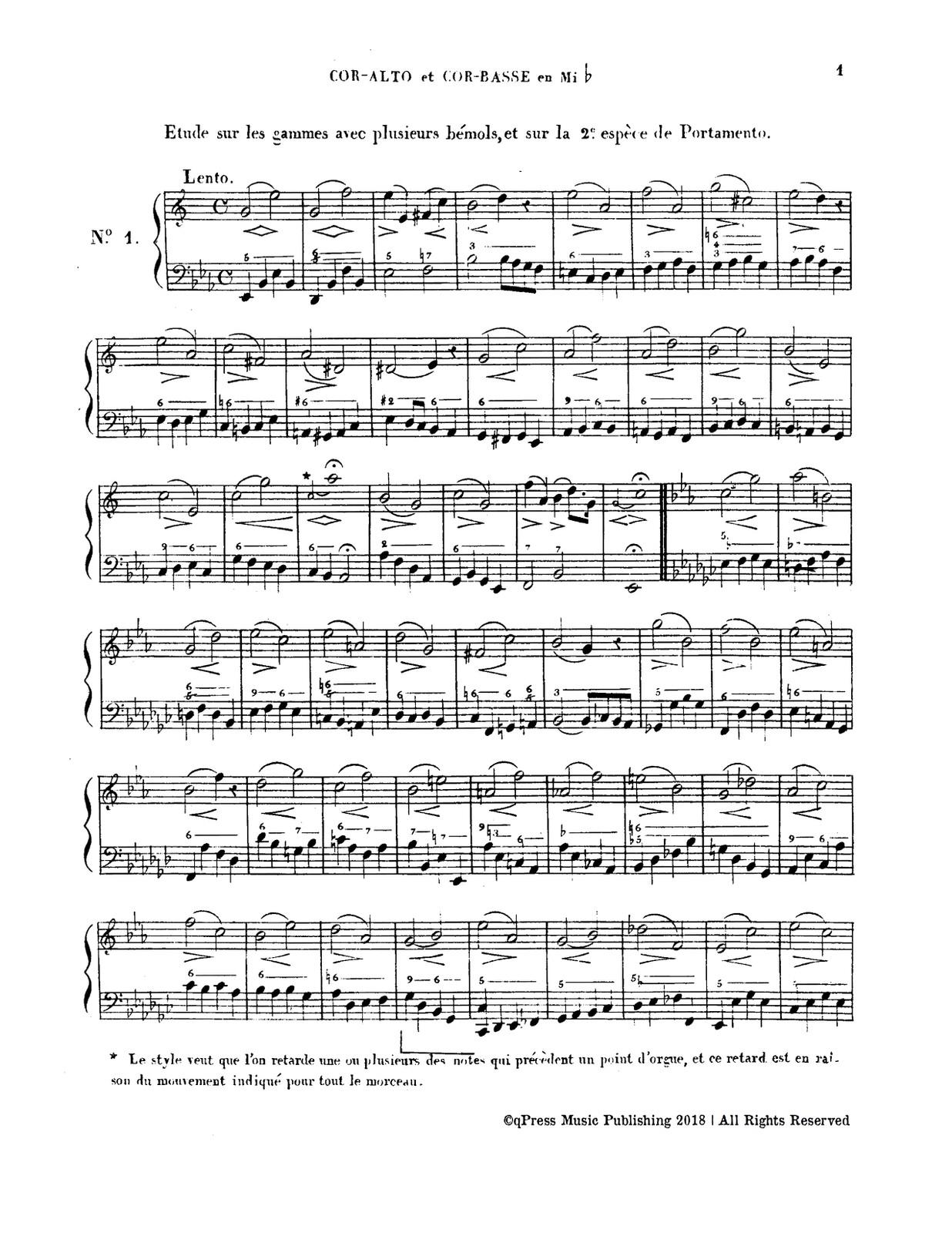 Dauprat, 12 Etudes Pour Cor-p05