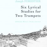 Forestier, Six Lyrical Studies for Two Trumpets-p01