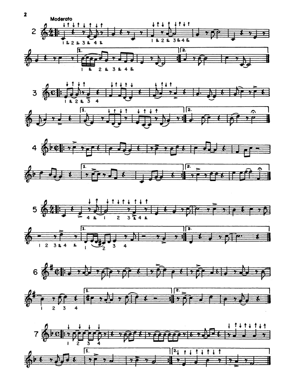 Huffnagle-Gornston, Melody Way to Syncopation-p06