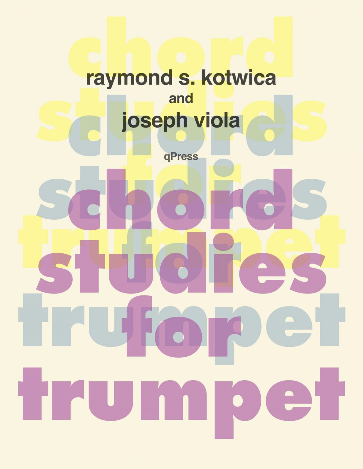 Kotwica-Viola, Chord Studies for Trumpet