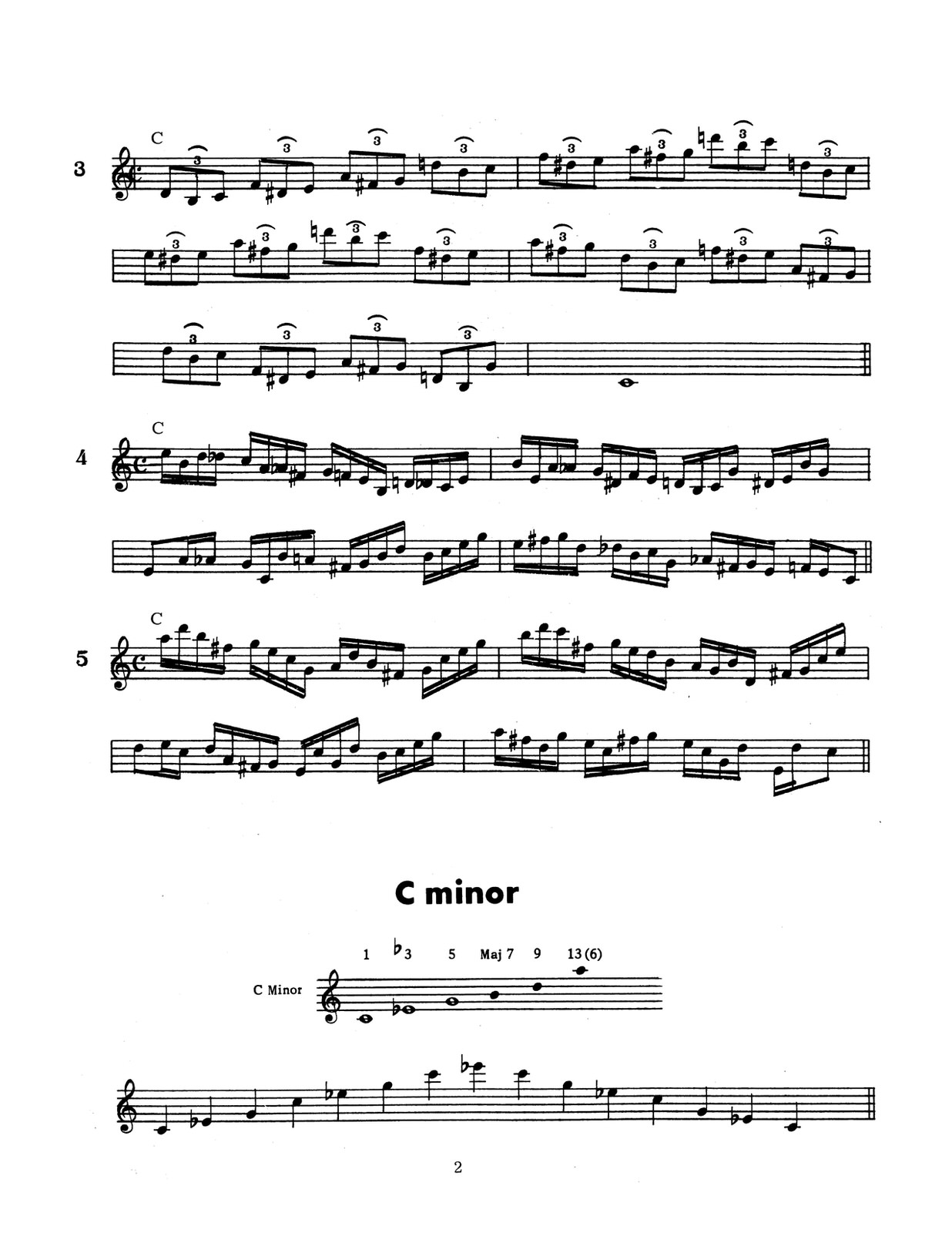 Kotwica, Viola, Chord Studies for Trumpet-p008