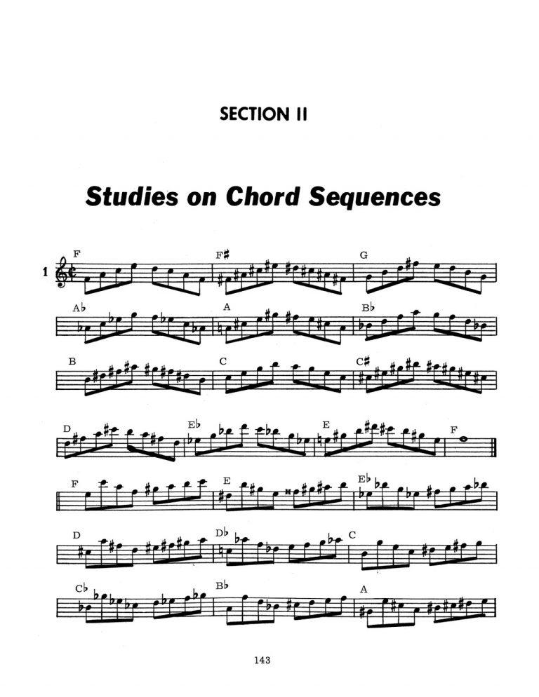 Chord Studies for Trumpet