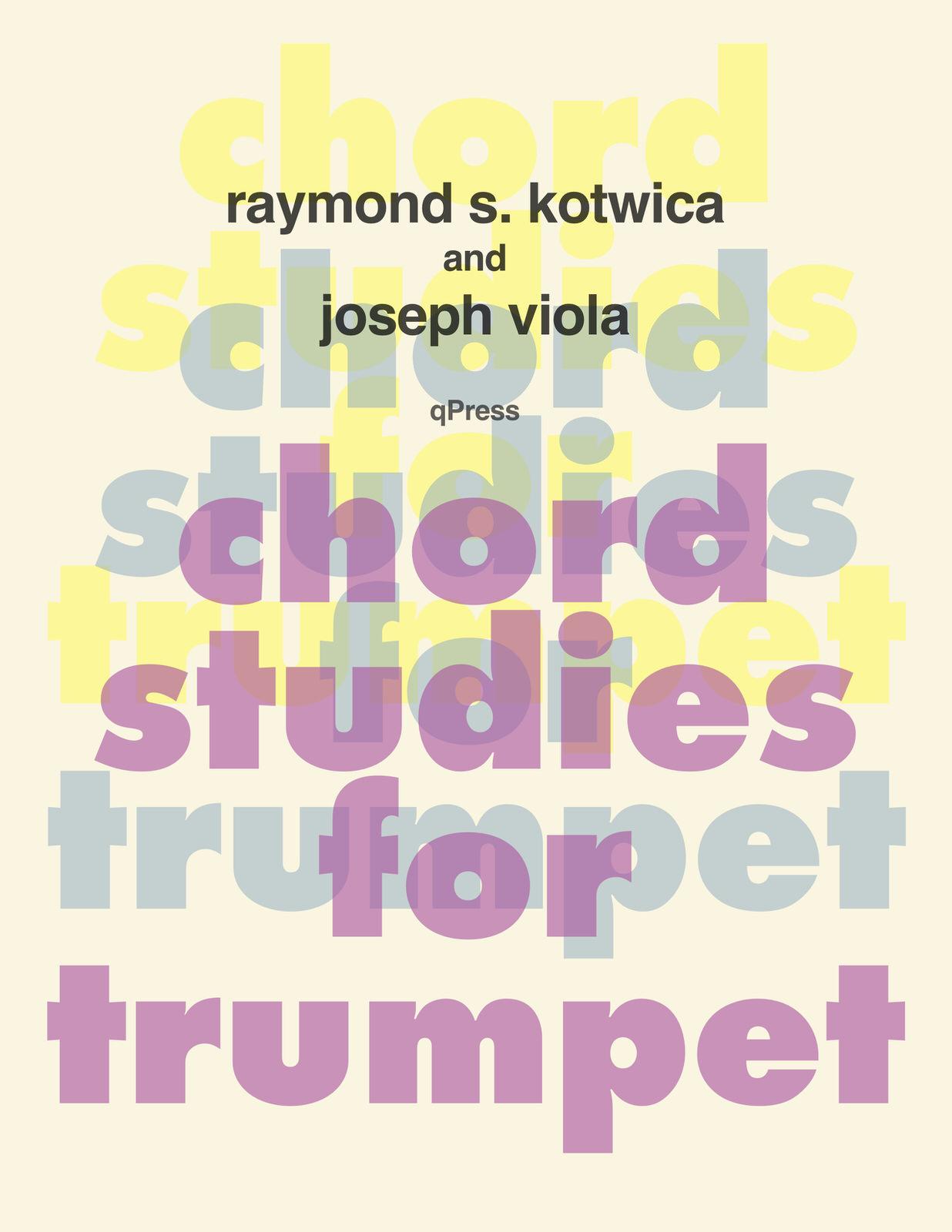 Kotwica-Viola, Chord Studies for Trumpet