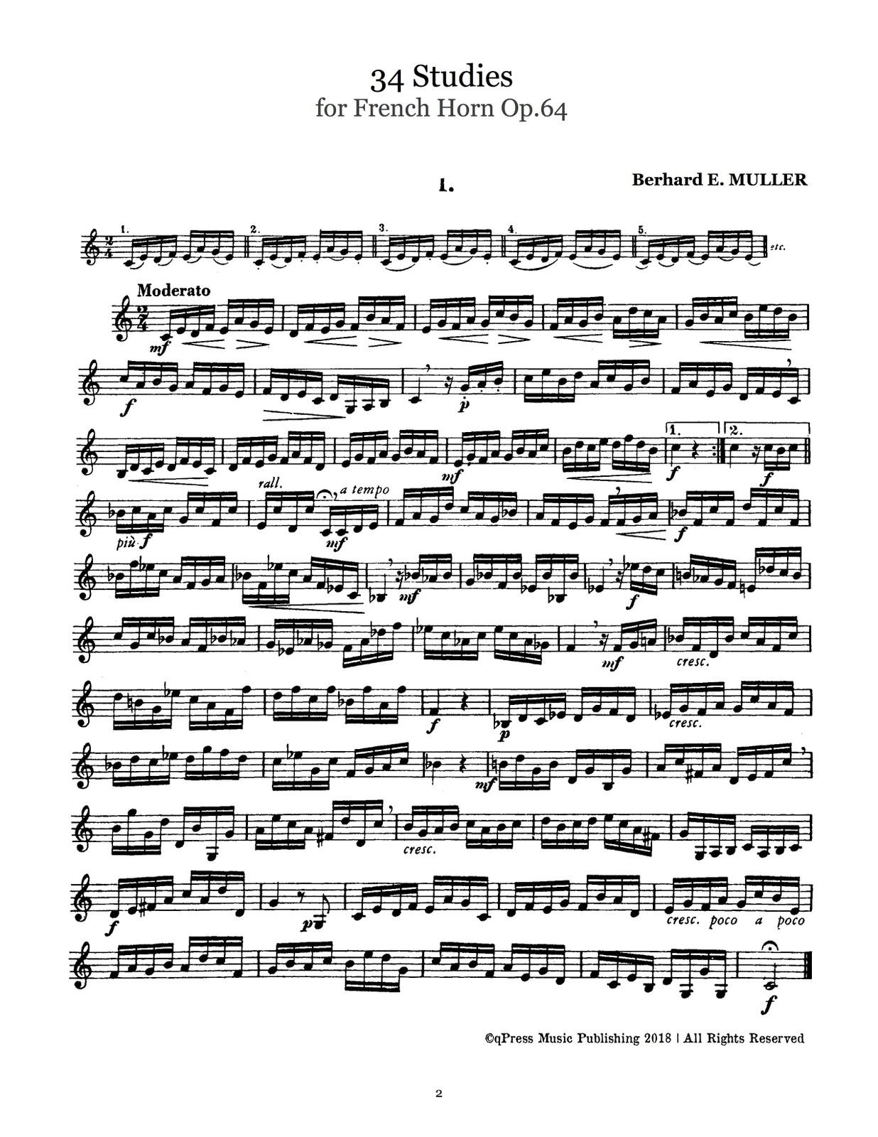 Muller, 34 Studies Opus 64 Complete-p02