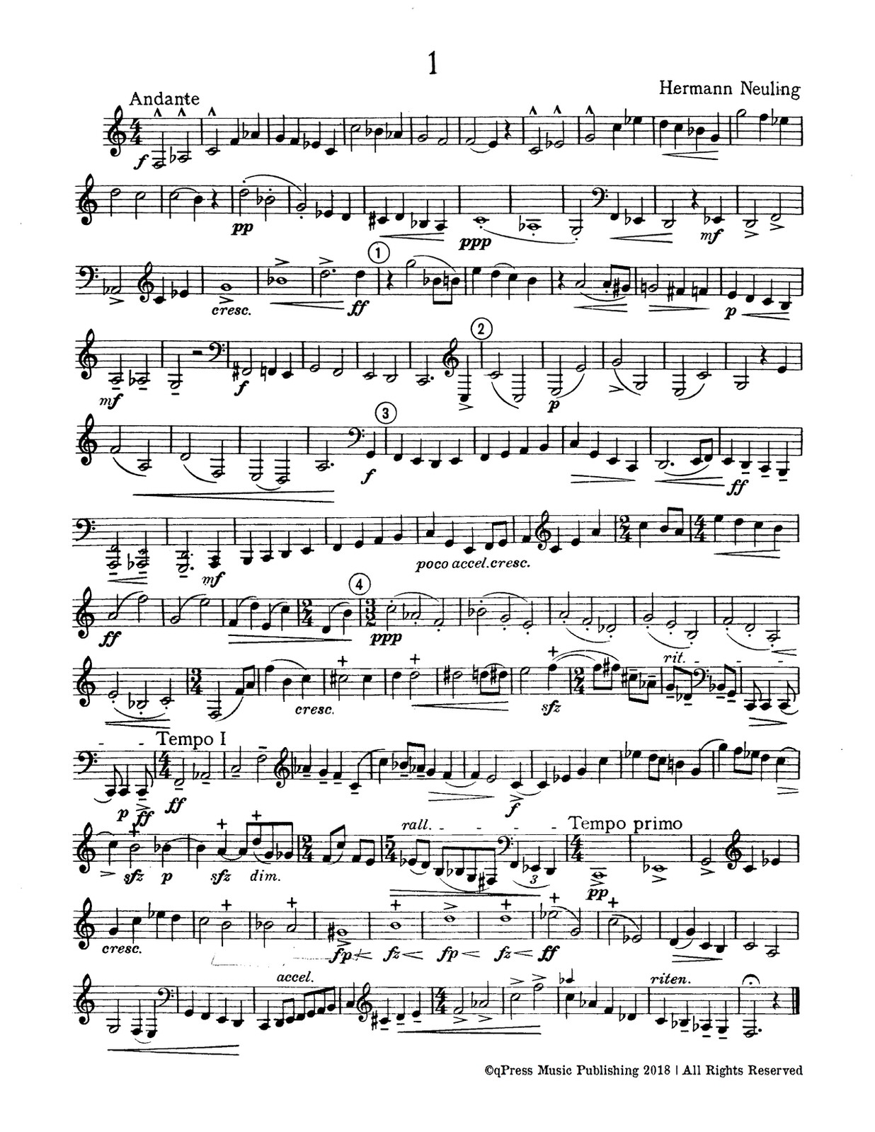 Neuling, 30 Special Studies for Low horn 3
