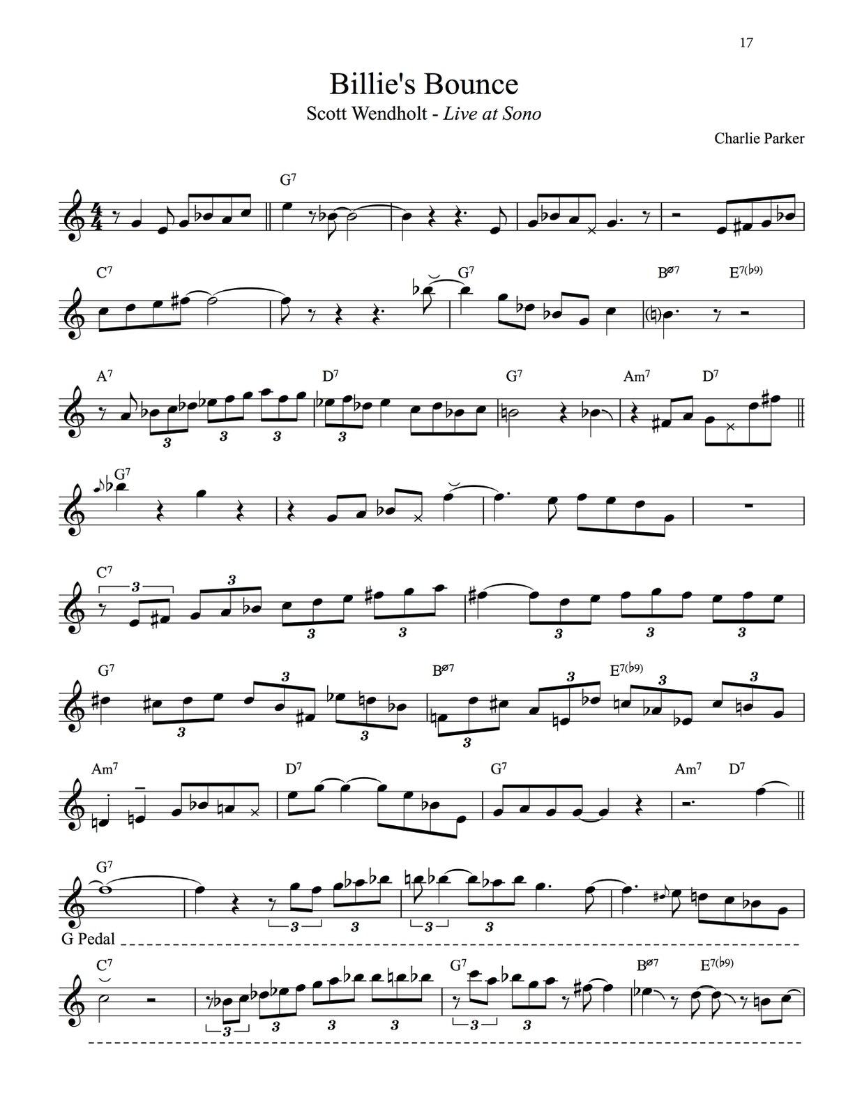Siereveld, Modern Approach to Improvisation Volume 3 Wendholt-p027