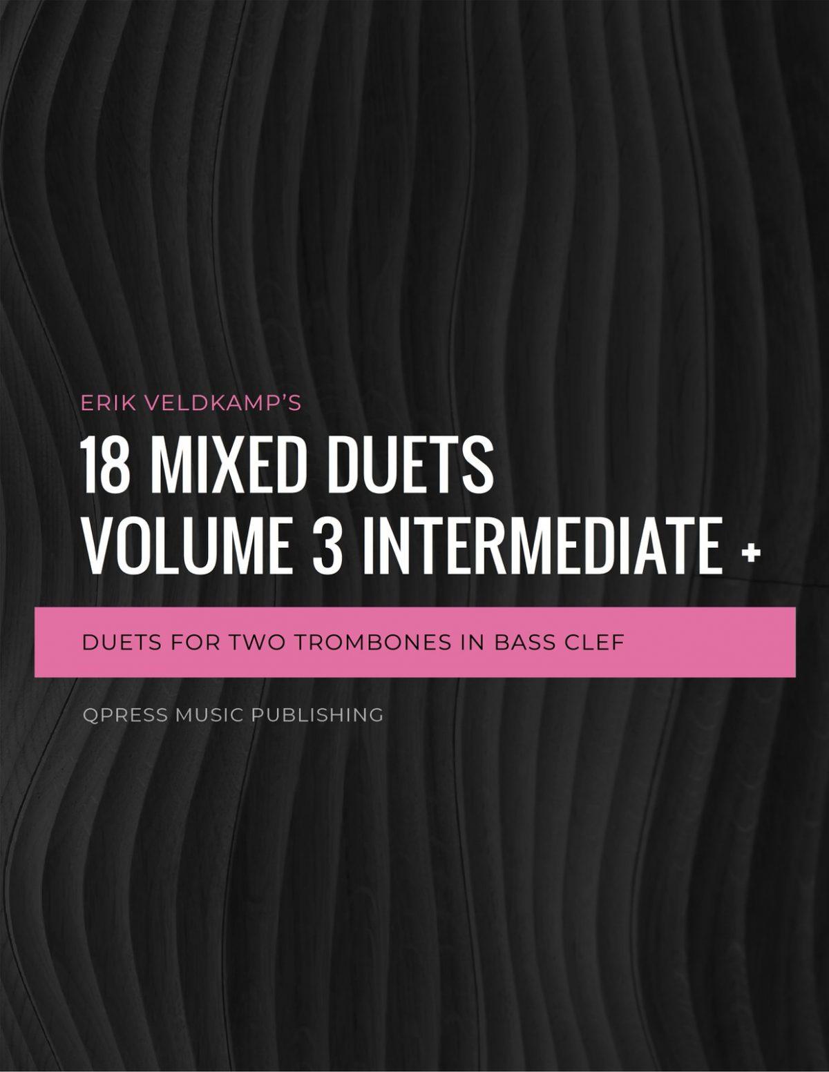Veldkamp, 18 Mixed Duets Vol.3(Bass Clef)-p01