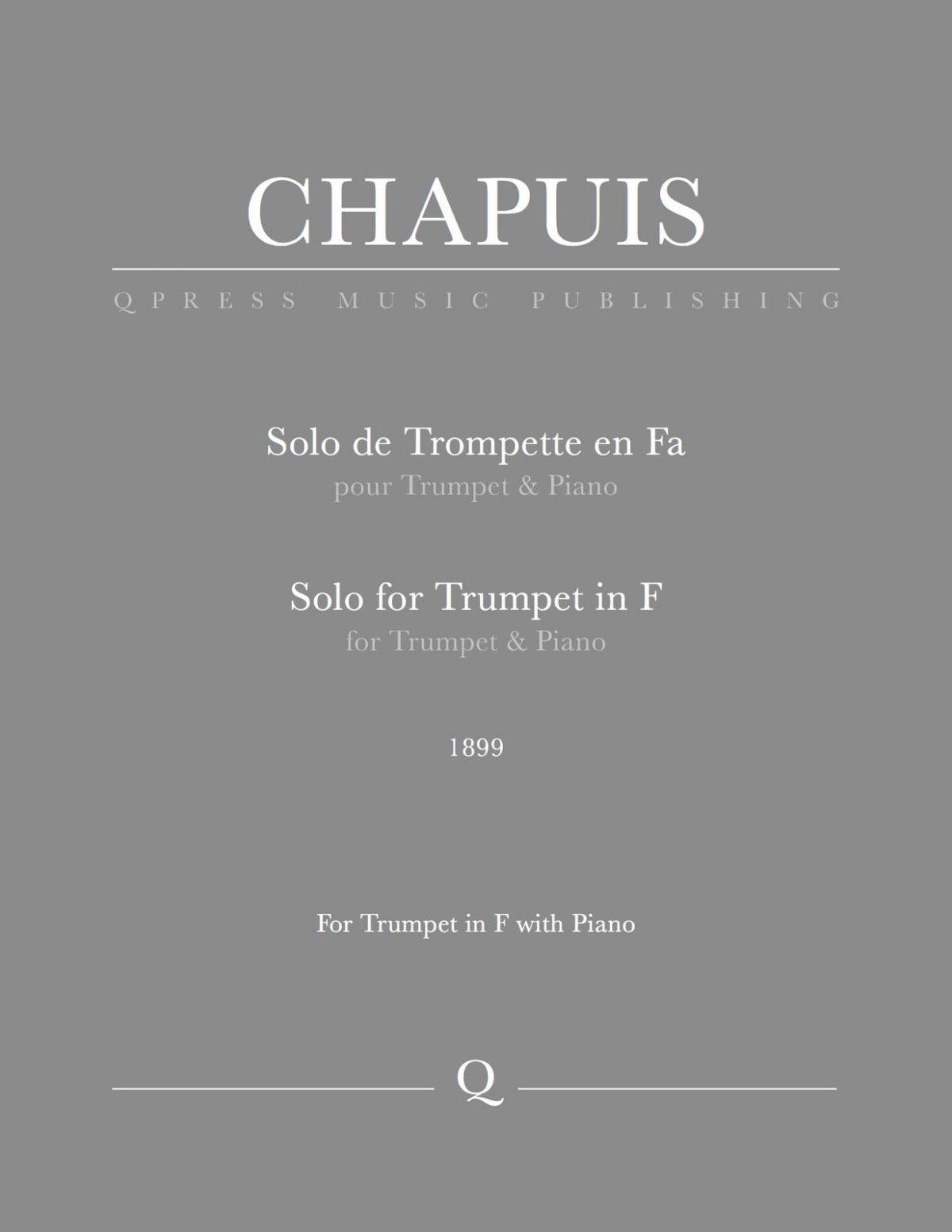 Chapuis, Solo de Trompette-p01