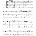 Hillert, Three Christmas Carols for Brass (Score and Parts)-p06
