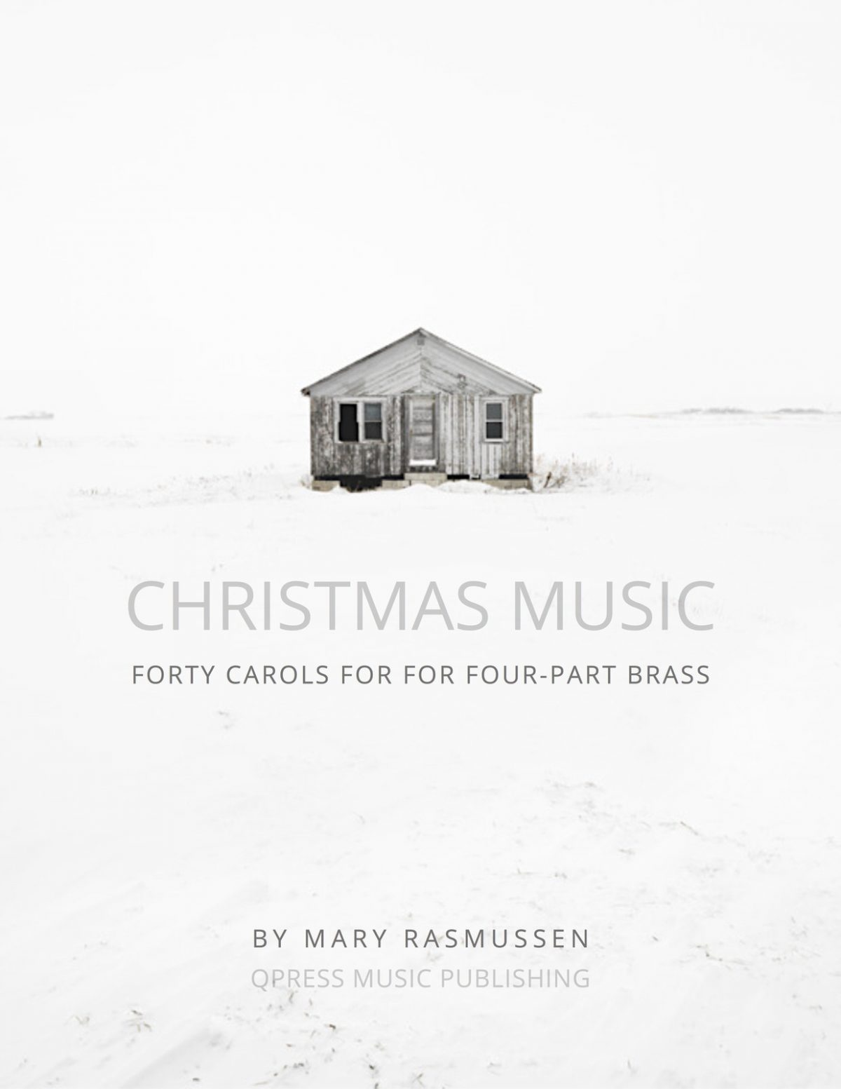 Rasmussen, Christmas Music for Four Part Brass (Score and Parts)-p001