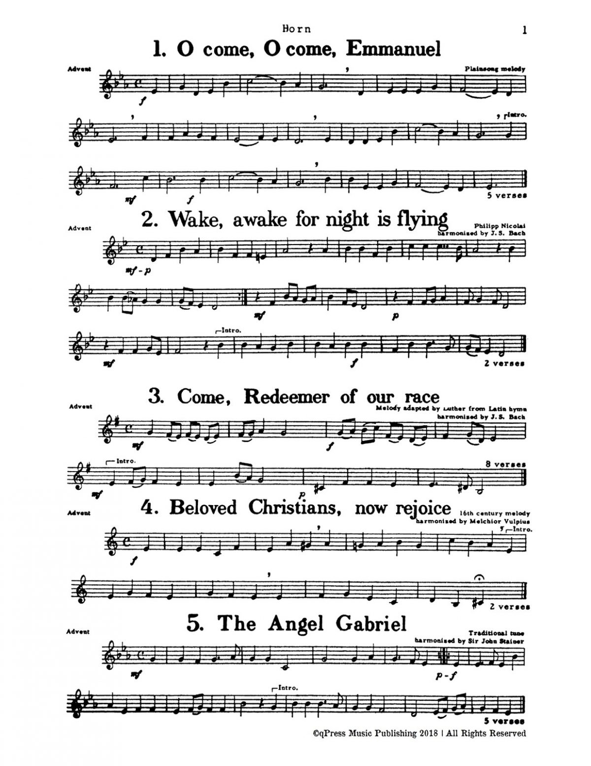 Rasmussen, Christmas Music for Four Part Brass (Score and Parts)-p029