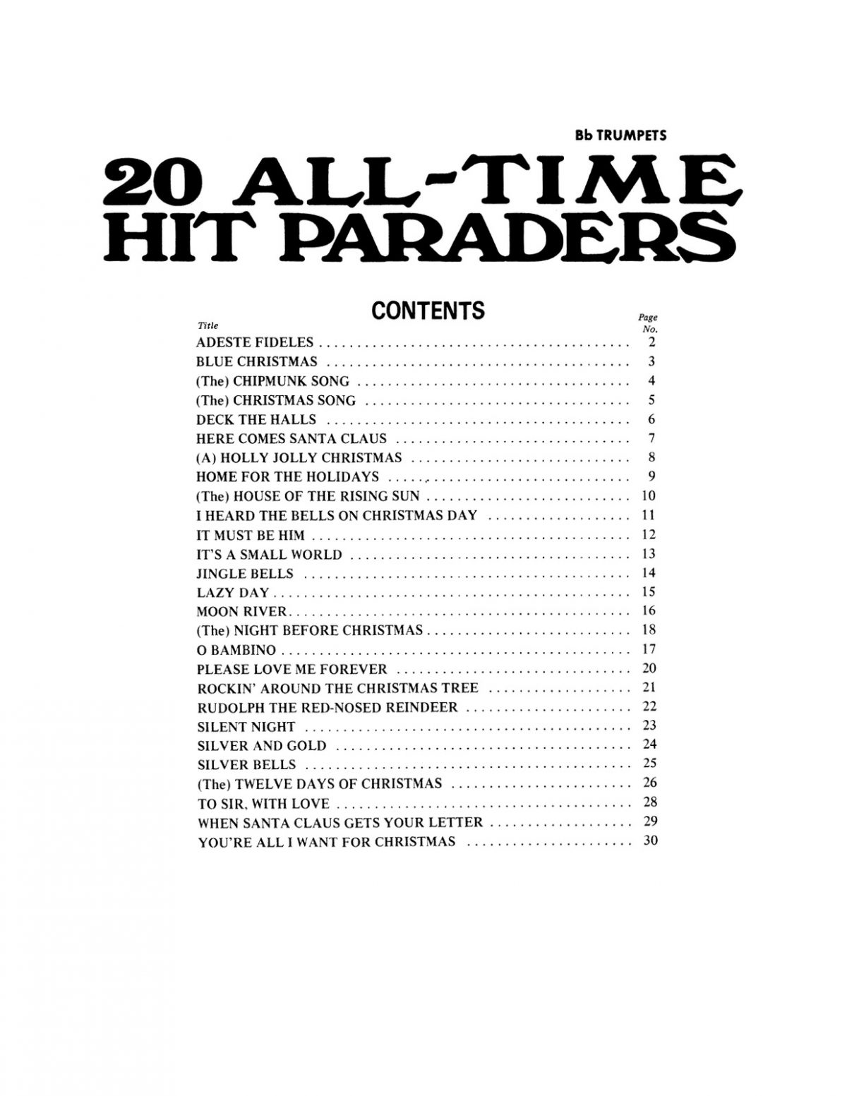 Various, All Time Hit Paraders-p03