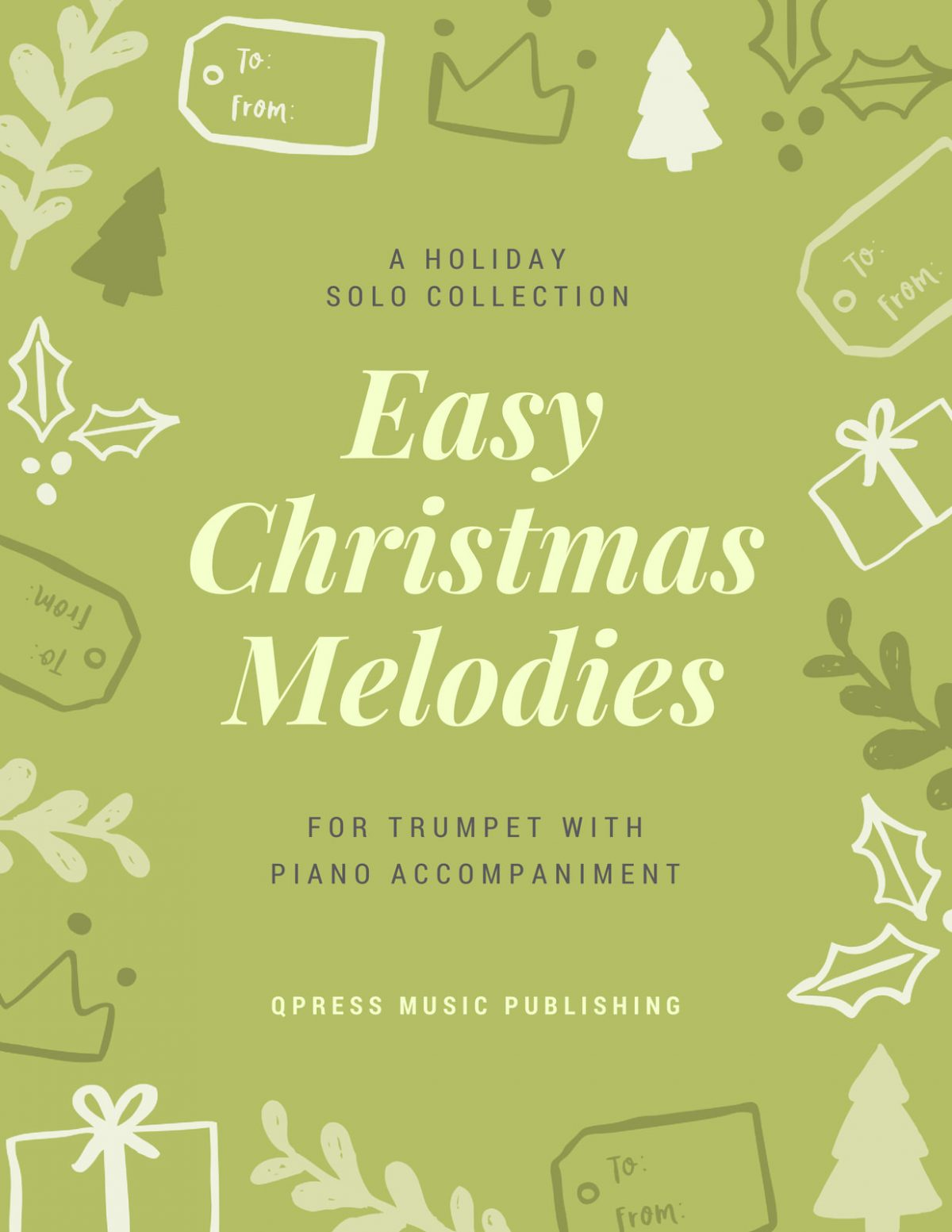 Various, Christmas Melodies (Score and Part)