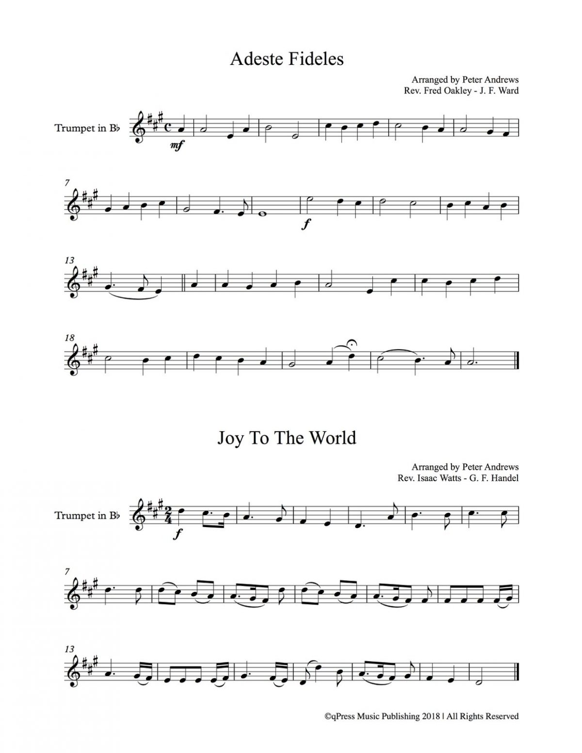 Various, Christmas Melodies (Score and Part)-p03