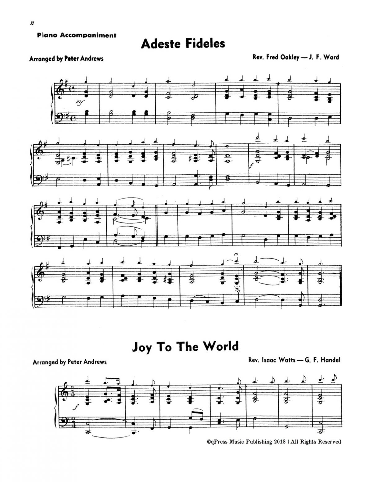 Various, Christmas Melodies (Score and Part)-p16