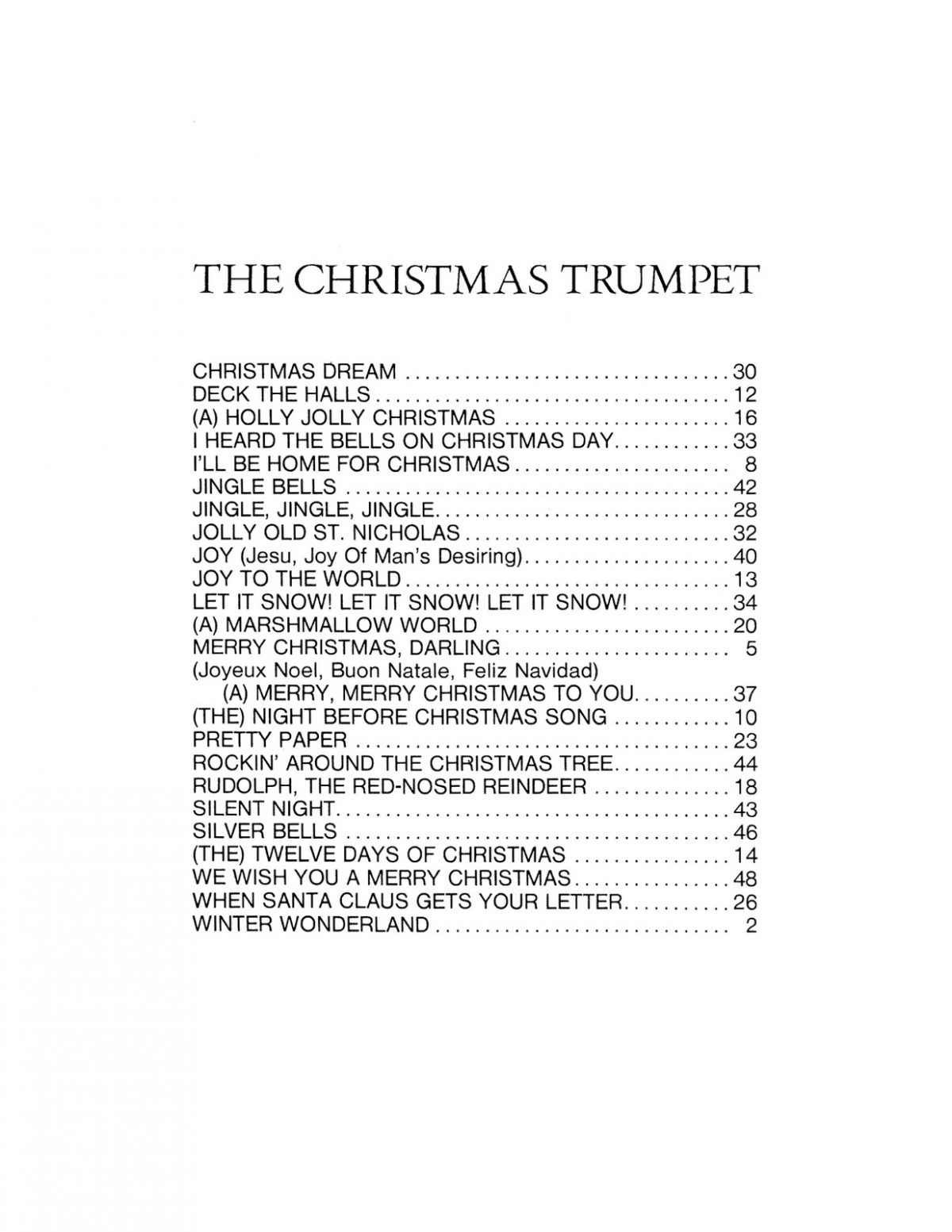 Various, The Christmas Trumpet-p03